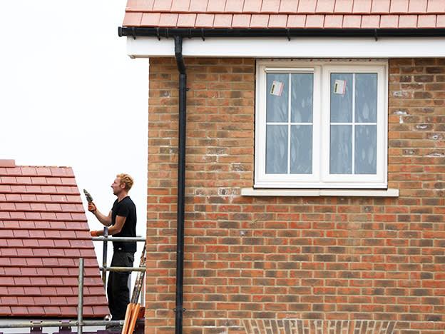 Harworth development values decline