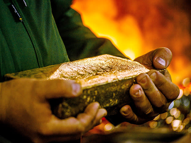 The gold giants of London see cash deluge