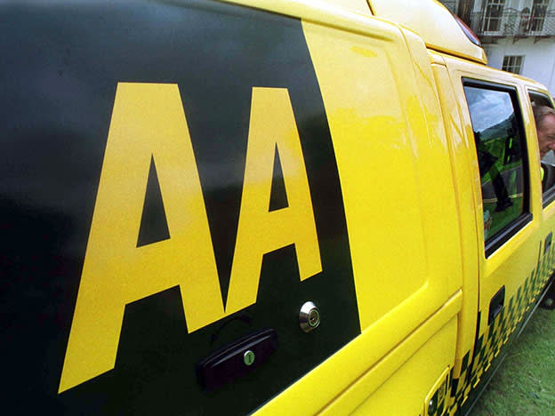 AA running out of road