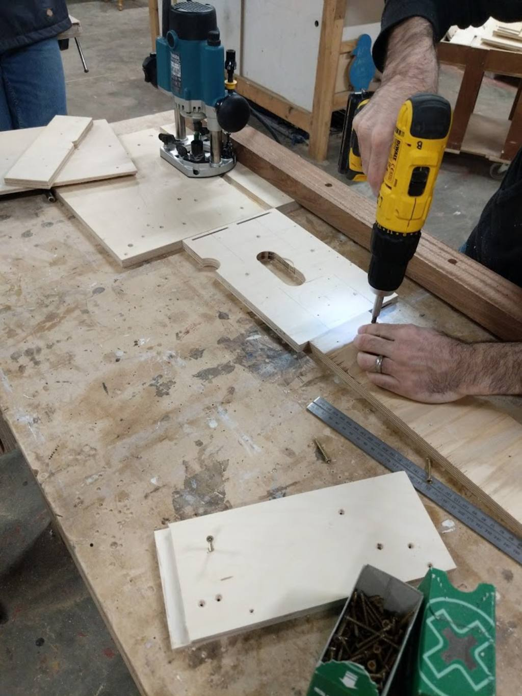 Routing with a router