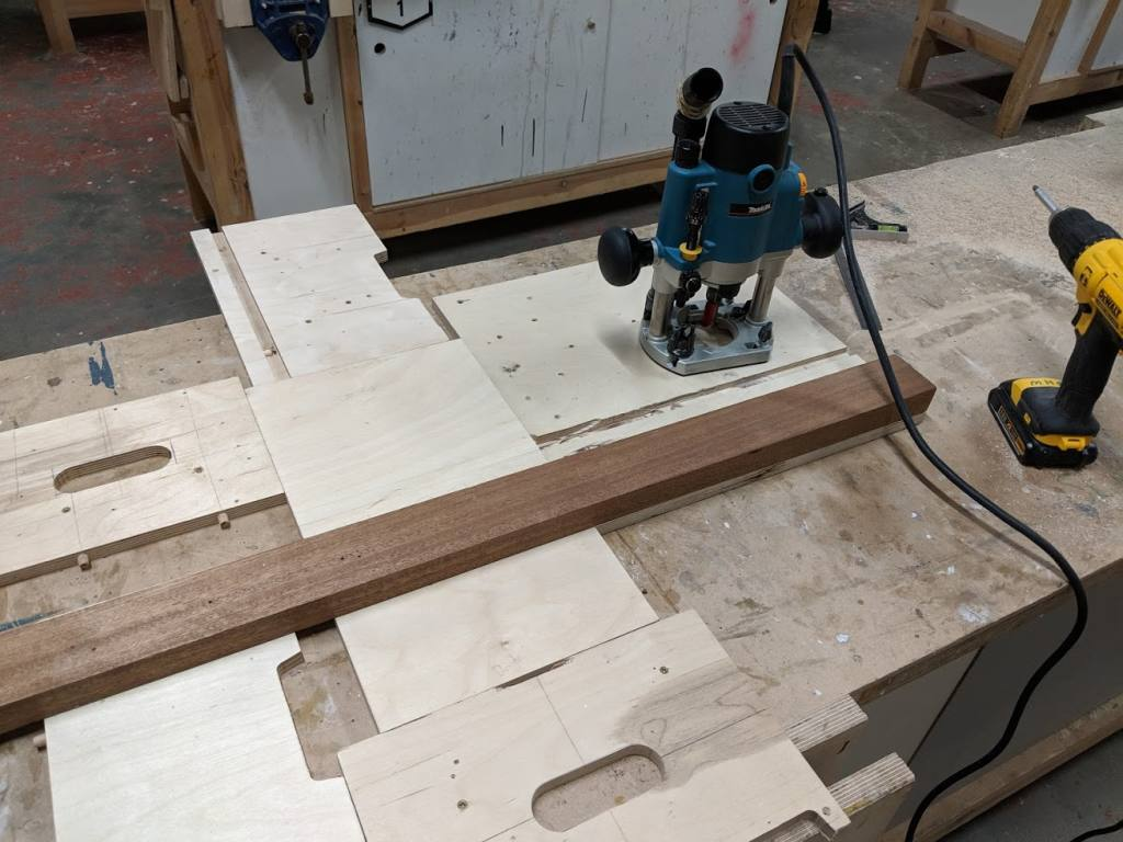 Cutting the dado rails