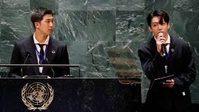 Article image: UNGA's early stars: K-pop's BTS and a Carney-led green finance push