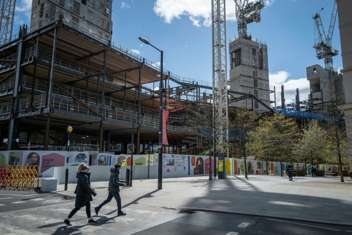 King's Cross is home to the Eurostar rail terminal and Google's European HQ, currently under construction, 'but right next to it are some of the poorest communities not just in the UK but in Europe,' according to the leader of its borough council