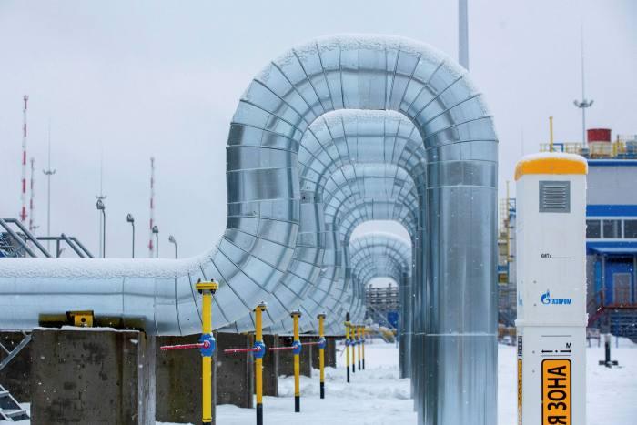 The Gazprom PJSC Slavyanskaya compressor station, the starting point of the Nord Stream 2 gas pipeline