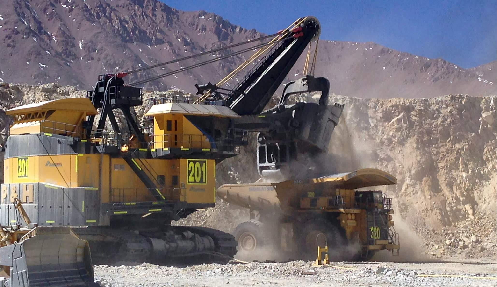 Chilean copper mine tests Japan's ability to dig at the ...