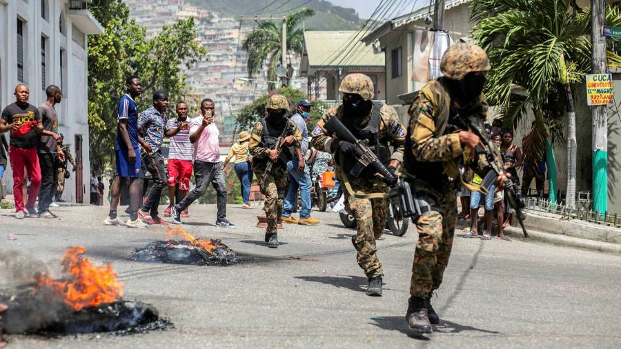 Haiti's 'descent into hell' looms closer after death of president