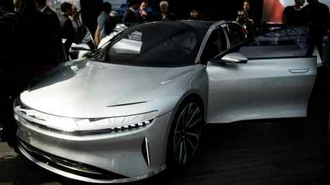 Investor no-show puts bn Lucid Motors Spac deal in jeopardy