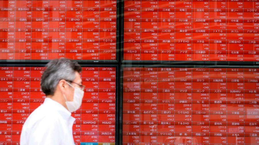 Global stocks follow Wall Street higher after bank rule change