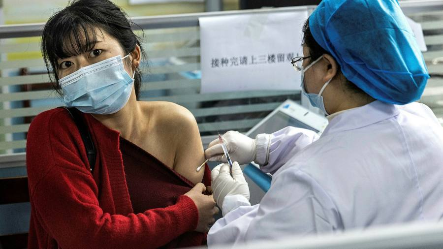 China believes that vaccine disorders can boost low effectiveness