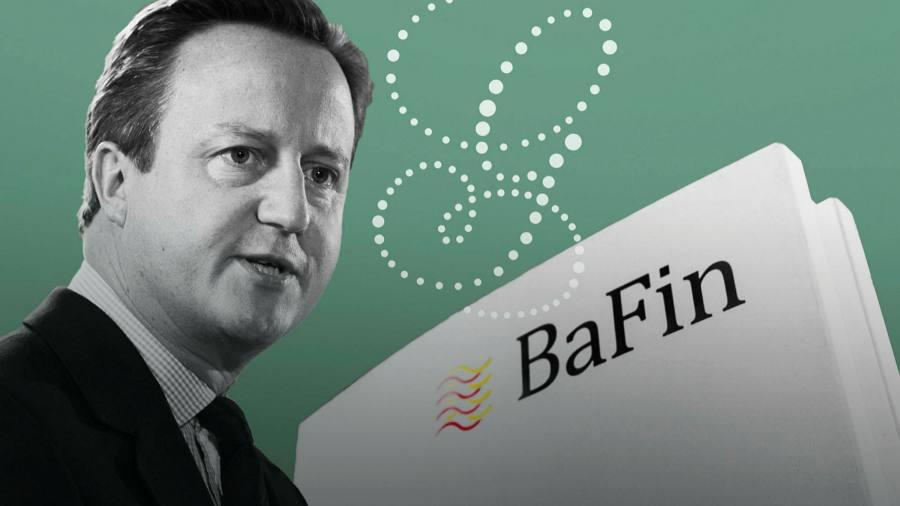 Cameron-warf-Greensills-Dienste-dem-deutschen-Regierungsbeamten-zu