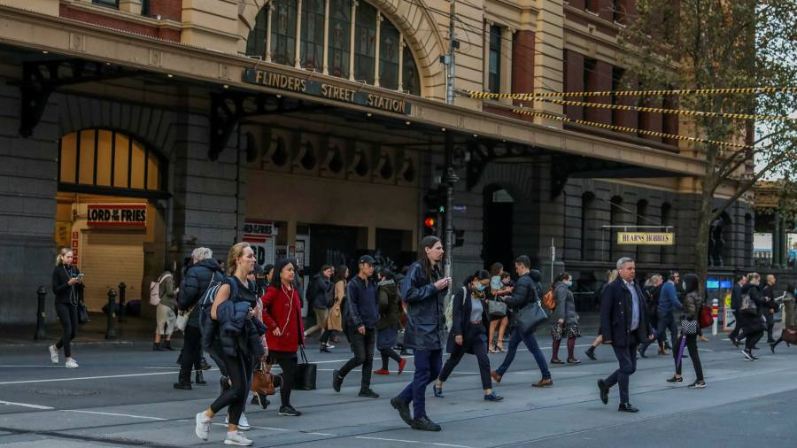 Coronavirus latest: Melbourne reintroduces social distancing over outbreak