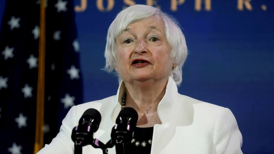 """Yellen Fields plans to raise U.S. corporate taxes that are """"mutually beneficial""""."""