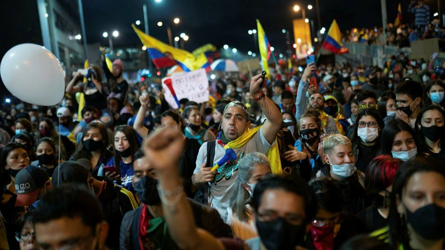Colombia's social unrest could spread across Latin America