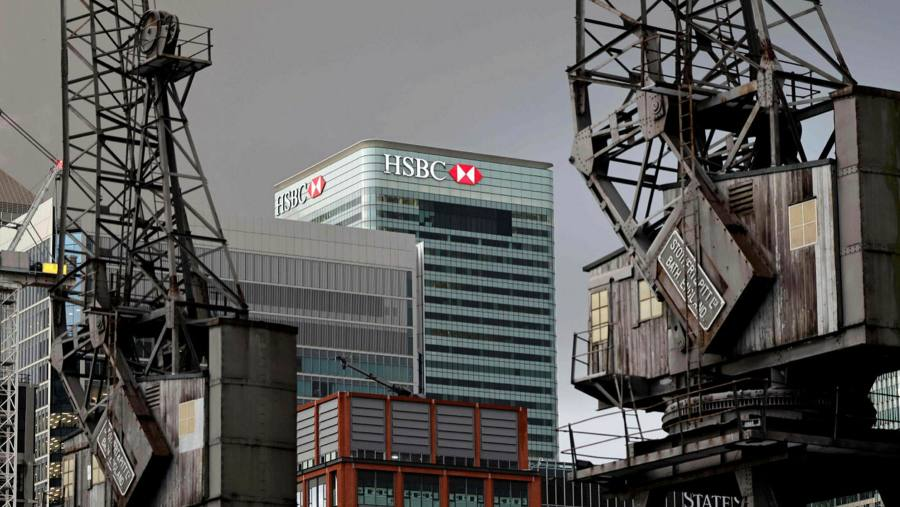 HSBC forced a hot brass table top as the HQ executive split the floor