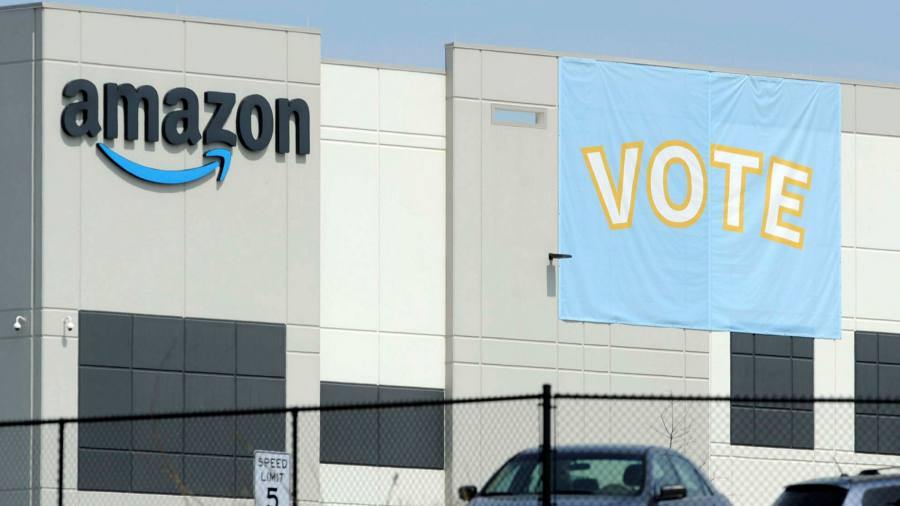 Amazon benefits for workers  Financial Times