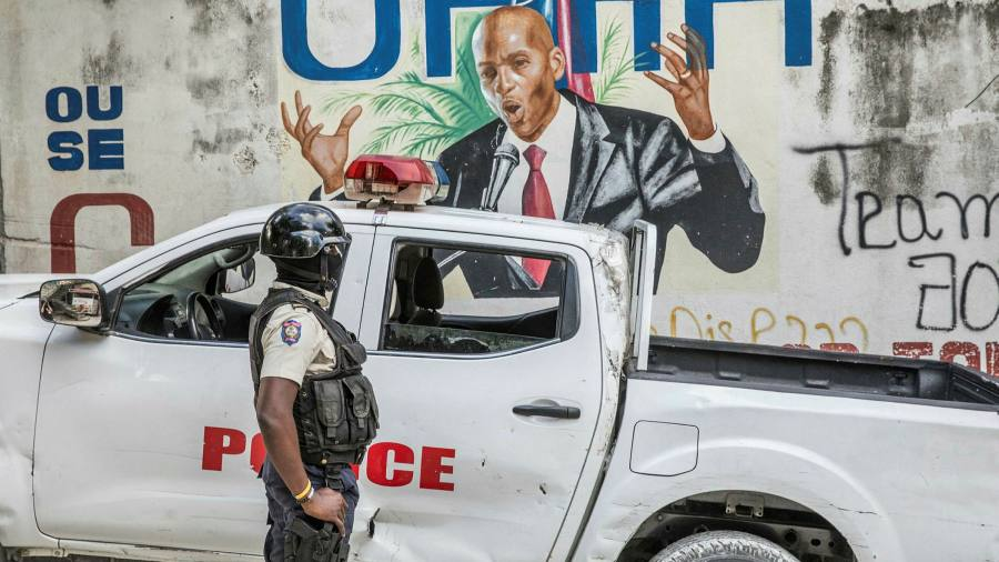 Colombian police name suspect in assassination of Haitian president