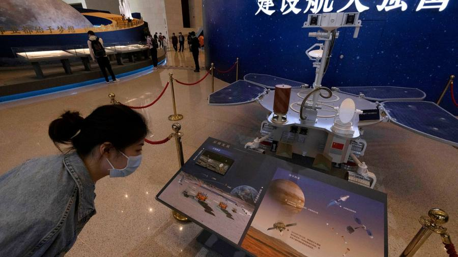 China lands the spacecraft on Mars