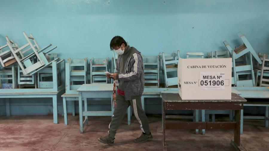 Markets on tenterhooks as Peruvians vote in close election