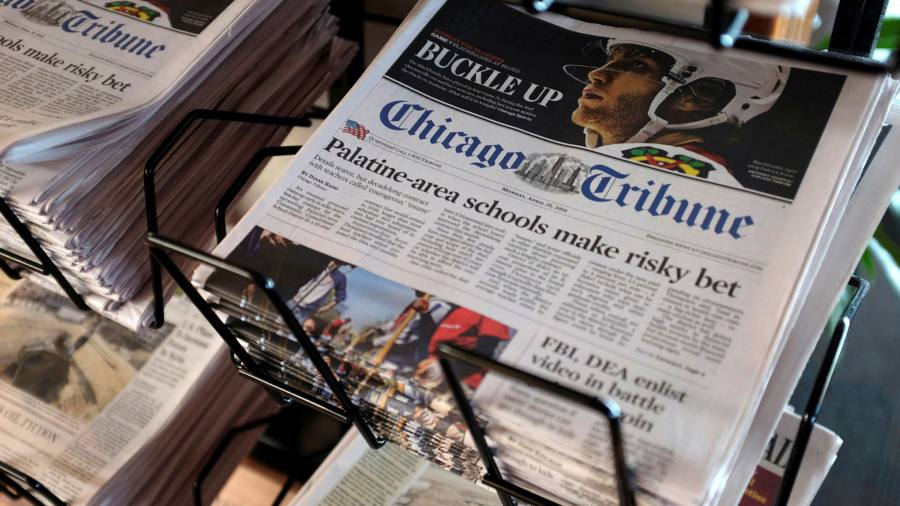 Photo of Control of Tribune media group looks set to go to hedge fund