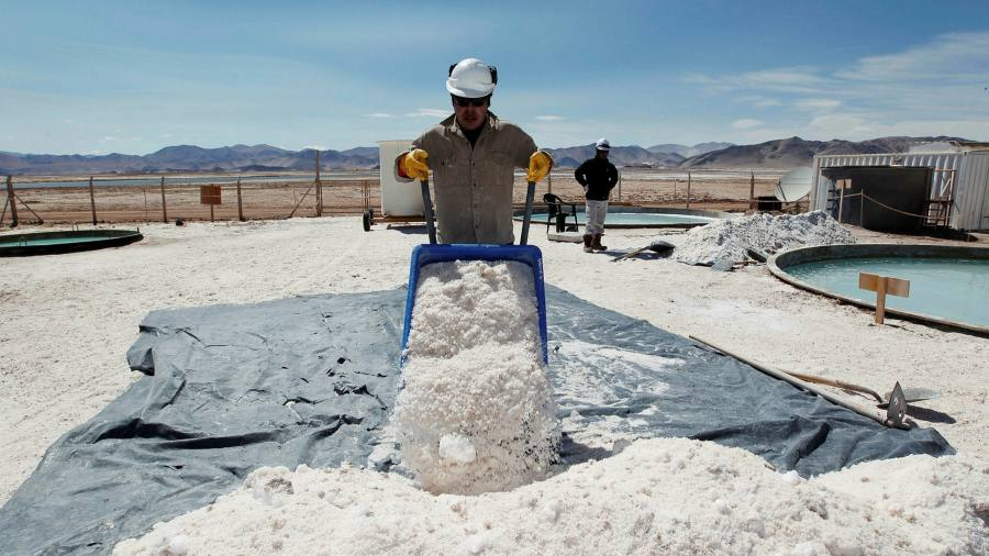 Lithium miners combine $ 3.1 billion in electric vehicles as fuel demand