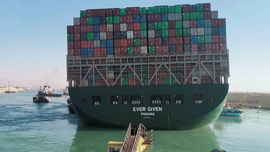 The Suez Canal ship is finally a free impetus for global trade