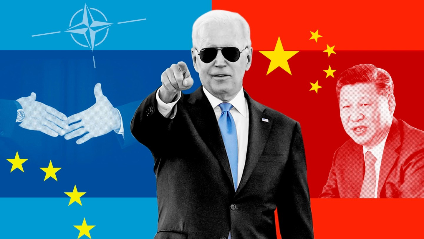 America is back - and wants everyone to focus on China |  Financial Times