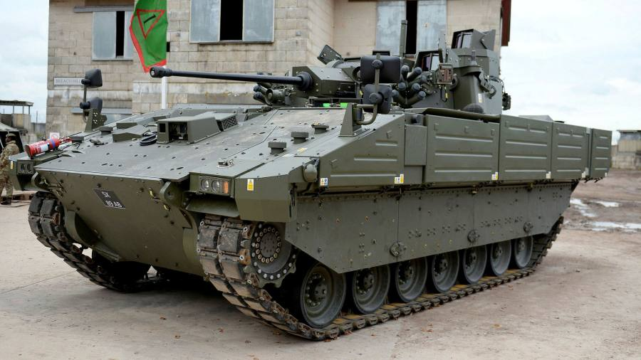 Defects with UK army's new tank go back to 2019, minister admits
