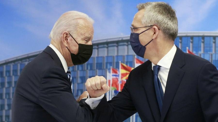 Nato leaders to issue tough warning to China in sign of rising security fears
