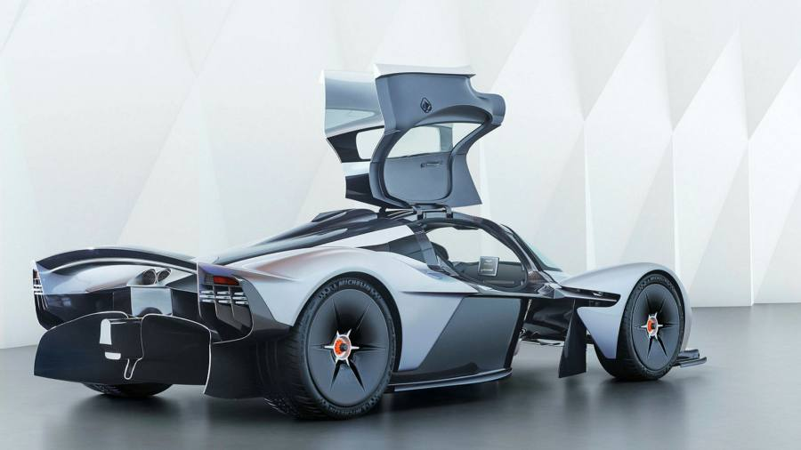 Aston Martin in a lawsuit over 2.5 million euros worth of Valkyrie 'hypercar' payments