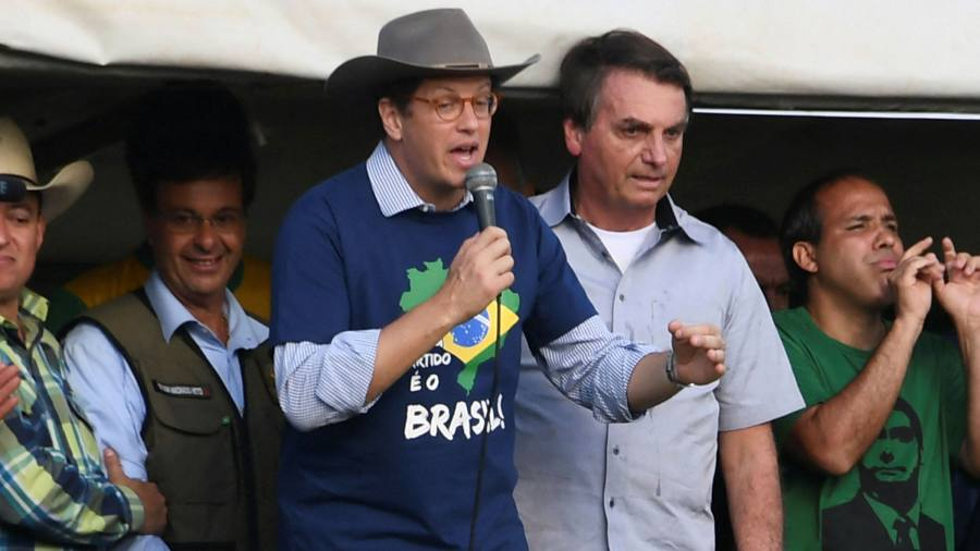Resignation of Brazil environment minister cheered by activists