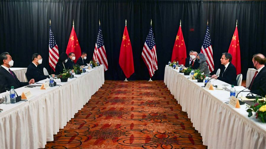 Biden should call for courage to change course against China
