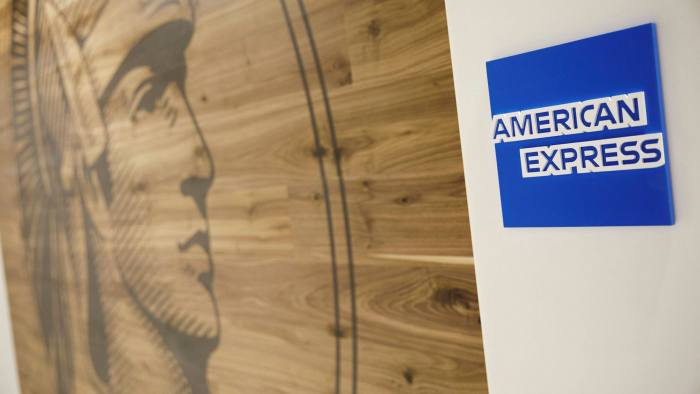 Signage in the American Express Centurion Lounge at Los Angeles International Airport © Bloomberg