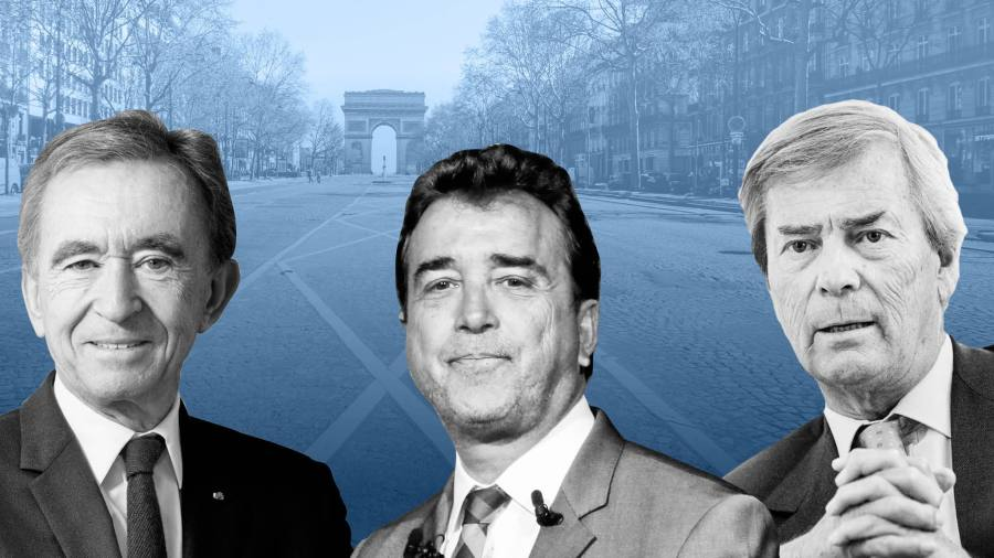 How France's billionaires rallied around Arnaud Lagardère