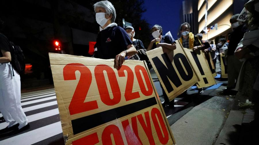 Japanese turn their backs on Olympic athletes as Covid's anxiety worsens