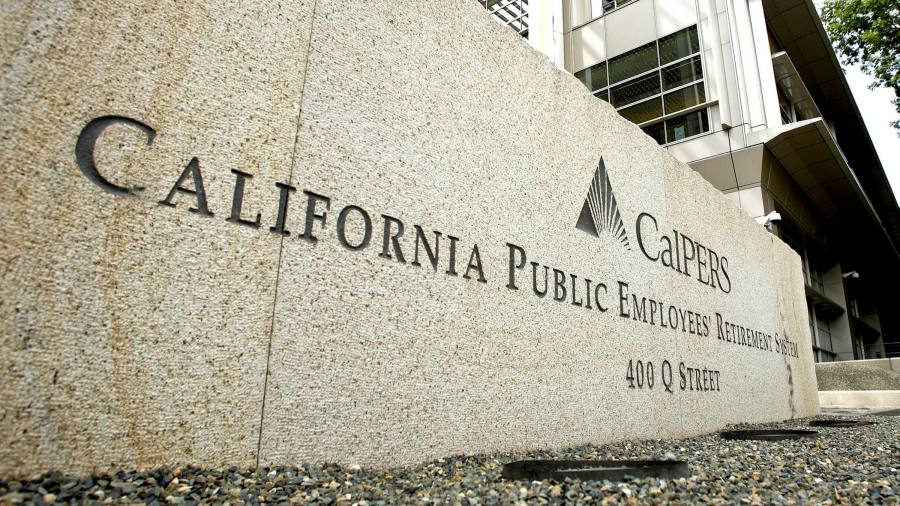 Calpers board member objects to $80bn leverage gamble