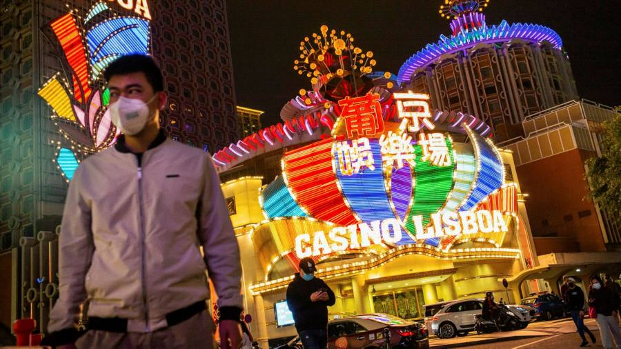 On line casino shares shed bn as Macau authorities seeks larger oversight