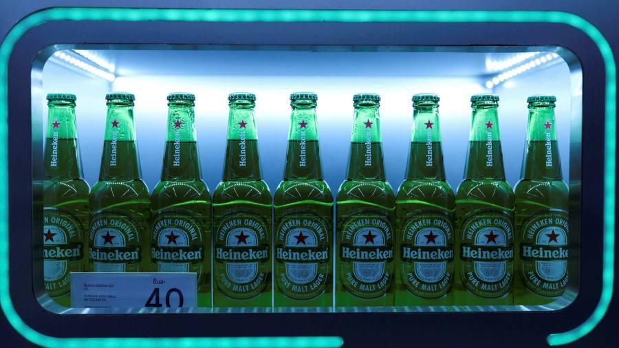 Beer sales in Asia and Africa are helping Heineken spot European blockades