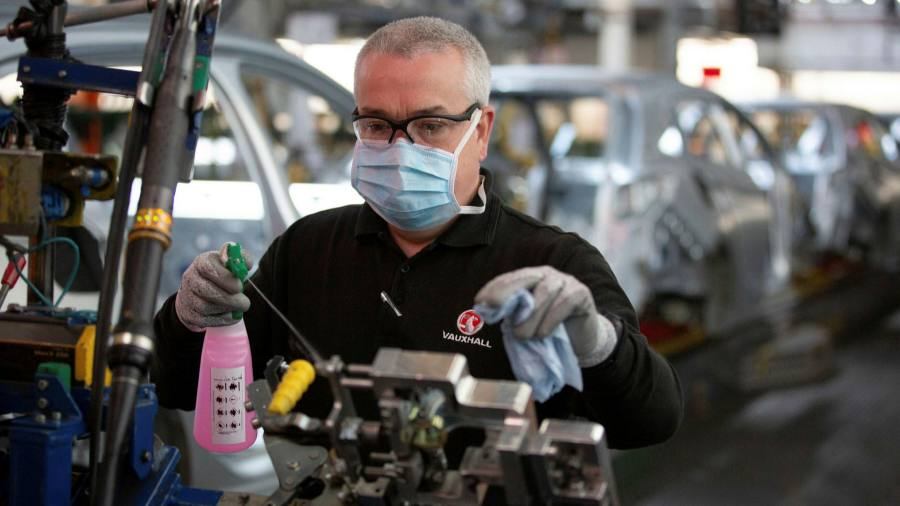 UK manufacturers call for business rates break to aid recovery