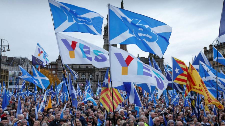 Half of the UK believes Scotland should accept a second independence referendum