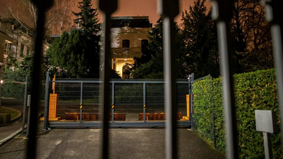 The Czechs have expelled 18 Russian diplomats as a result of the 2014 explosion