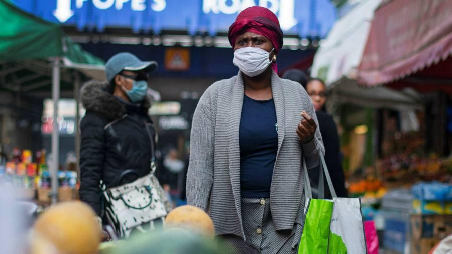Coronavirus death rate far higher for black Caribbean people