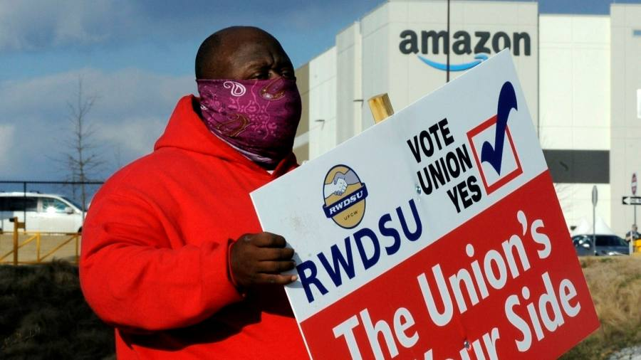 The number of Amazon votes shows an effort to unionize Alabama
