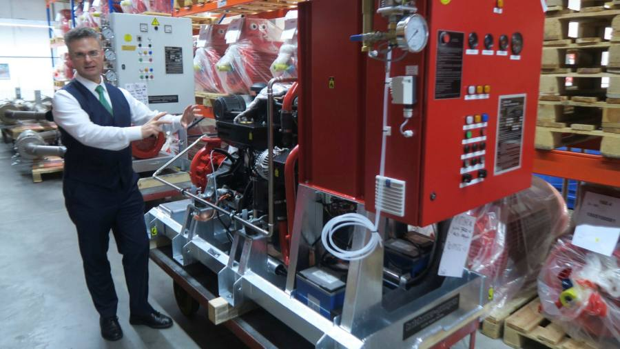 German manufacturer uses weekly Covid-19 tests to stay open