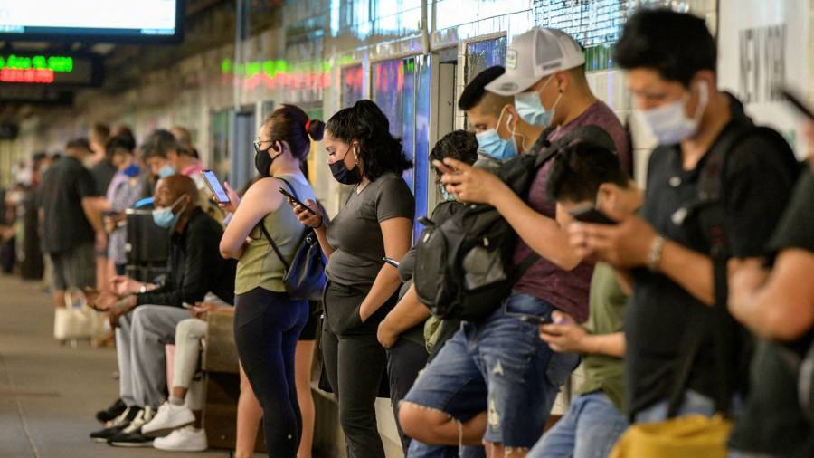 The latest Coronavirus: A record number of pandemic-era passengers have been seen on the New York subway