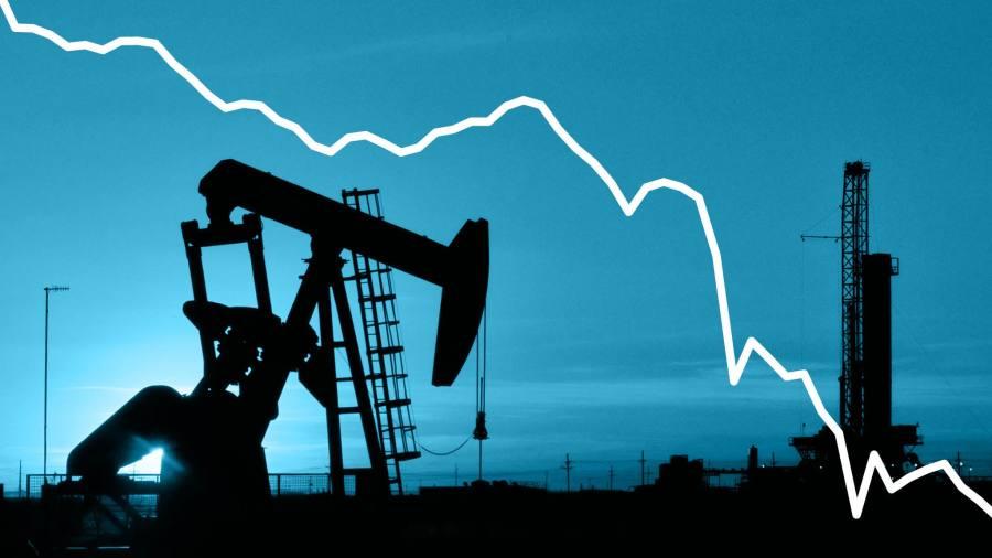 Oil industry facing historic production shutdown