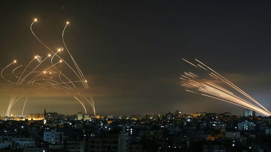 The Israeli Iron Dome keeps the rocket toll under control