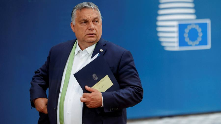Orban was left bruised and isolated after being shown in front of LGBT + rights