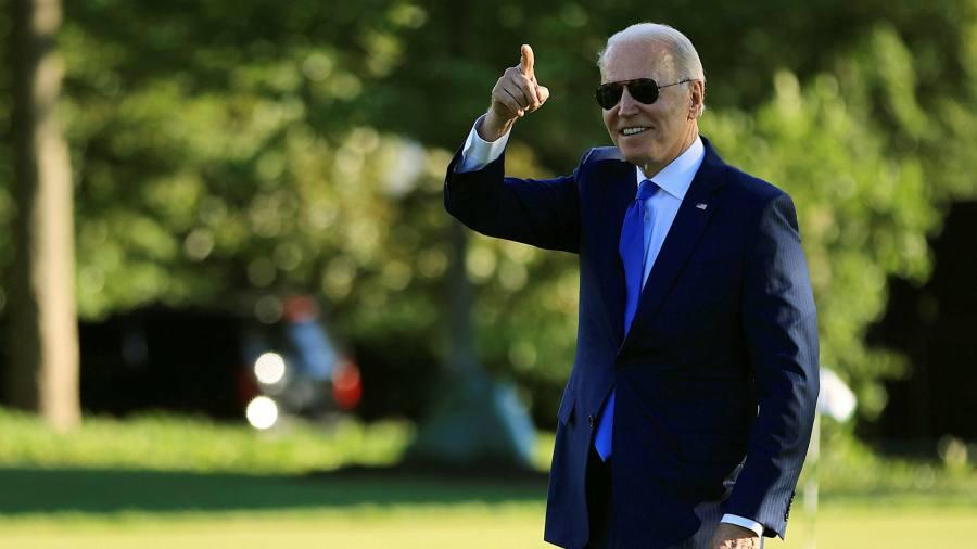 Biden is threatening to turn around the reverse infrastructure agreement