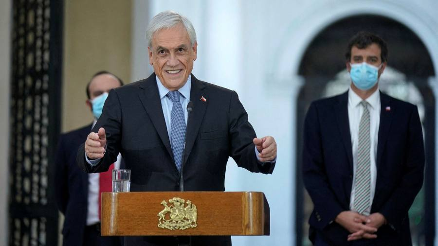 The Chilean president has predicted strong growth as a result of the vaccine push