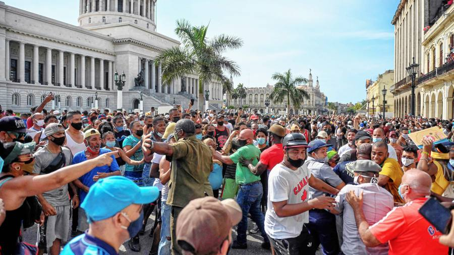 'There is no food, money or work': how shortages fuelled Cuba protests